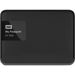 WD My Passport for Mac 3 TB USB 3.0 secure portable drive with a
