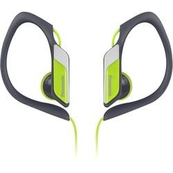 Panasonic Water-Resistant Sport Clip Earbud Headphones RP-HS34M-Y