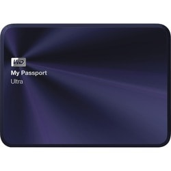 WD My Passport Ultra Metal Edition 3TB USB 3.0 portable hard drive Bl