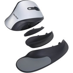 Goldtouch Ergonomic Newtral Medium Mouse Wireless- Silver/Black