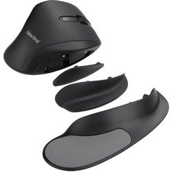Goldtouch Ergonomic Newtral Large Mouse Wireless- Black/Black via Erg