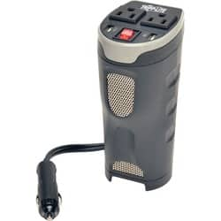 Tripp Lite Car Inverter Cup Holder 200W 12V DC to 120V AC 2 USB Charg|https://ak1.ostkcdn.com/images/products/etilize/images/250/1031077712.jpg?impolicy=medium
