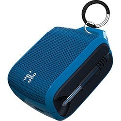 iHome Speaker System - Portable - Battery Rechargeable - Blue, Black