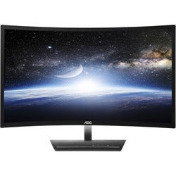 "AOC c2783Fq 27"" Curved LED Monitor with HDMI and DP"