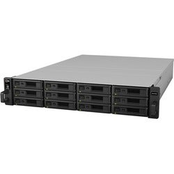 Synology RX1216SAS Drive Enclosure - 2U Rack-mountable