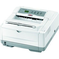Oki B4600N LED Printer - Monochrome - 600 x 2400 dpi Print - Plain Pa