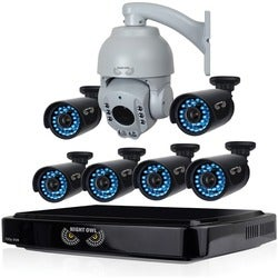 Night Owl AHD B-A720-81-6-1PTZ Video Surveillance System