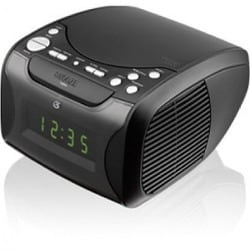 GPX Desktop Clock Radio - Apple Dock Interface - Proprietary Interfac