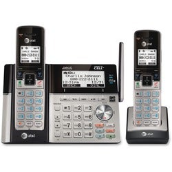 AT&T Connect to Cell TL96273 DECT 6.0 Cordless Phone - Silver, Black