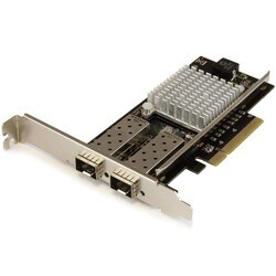 StarTech.com 2-Port 10G Fiber Network Card with Open SFP+ - PCIe, Int