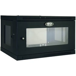 Tripp Lite 6U Wall Mount Rack Enclosure Server Cabinet w/ Acrylic Win