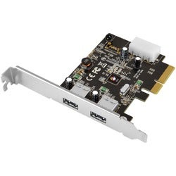 SIIG USB 3.1 2-Port PCIe Host Adapter - Type-A