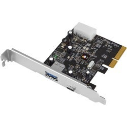 SIIG USB 3.1 2-Port PCIe Host Adapter - Type-A/C