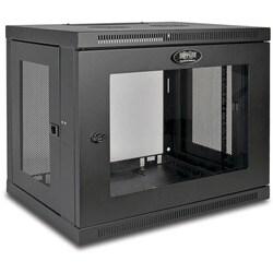 Tripp Lite 9U Wall Mount Rack Enclosure Server Cabinet w/ Acrylic Gla