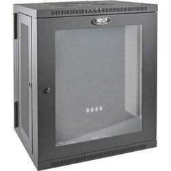 Tripp Lite 15U Wall Mount Rack Enclosure Server Cabinet w Hinged Acry