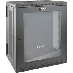 Tripp Lite 15U Wall Mount Rack Enclosure Server Cabinet w Hinged Acry