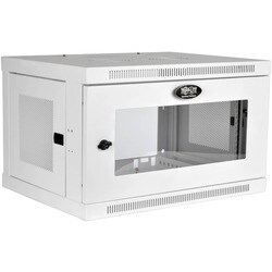 Tripp Lite 6U Wall Mount Rack Enclosure Server Cabinet White w/ Acryl