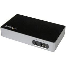 StarTech.com 4K DisplayPort Docking Station for Laptops - USB 3.0 - U