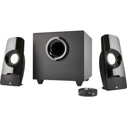 Cyber Acoustics Curve Blast 2.1 Speaker System - 8 W RMS