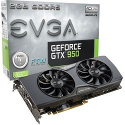 EVGA GeForce GTX 950 Graphic Card - 1203 Core - 1.41 GHz Boost Clock