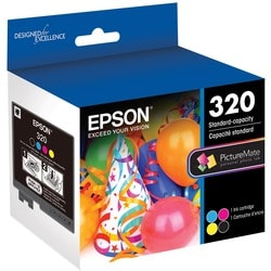 Epson Original Ink Cartridge - Cyan, Magenta, Yellow, Black