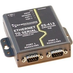 Brainboxes ES-413 Ethernet 2 Port RS422/485 Power Over Ethernet PoE