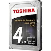"Toshiba X300 HDWE140XZSTA 4 TB 3.5"" Internal Hard Drive - SATA"