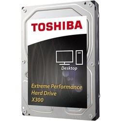 "Toshiba X300 HDWE160XZSTA 6 TB 3.5"" Internal Hard Drive"