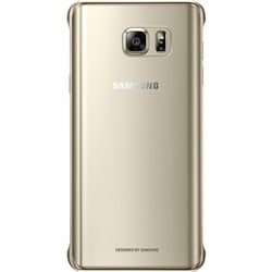 Samsung Galaxy Note5 Protective Cover, Clear Gold