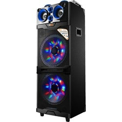 QFX PBX-515200BTL Speaker System - 50 W RMS - Portable - Battery Rech