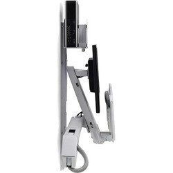 Ergotron StyleView Wall Mount for Monitor, CPU, Keyboard, Mouse, Scan