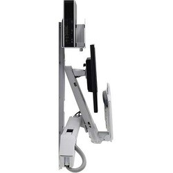 Ergotron StyleView Wall Mount for Monitor, CPU, Keyboard, Scanner, Mo