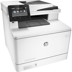 HP LaserJet Pro M477fnw Laser Multifunction Printer - Color - Plain P