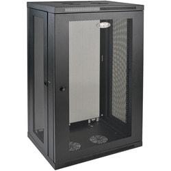 Tripp Lite 21U Wall Mount Rack Enclosure Server Cabinet w/ Door and S