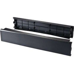 C2G 10 Pack 2U 19in Tool-Less Snap-In Filler Panel