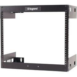 C2G 8U Wall Mount Open Frame Rack - 12in Deep