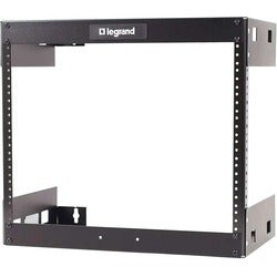 C2G 8U Wall Mount Open Frame Rack - 18in Deep