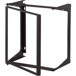 C2G 11U Swing Out Wall Mount Open Frame Rack - 25in Deep