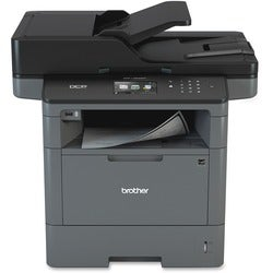 Brother DCP-L5600DN Laser Multifunction Printer - Monochrome - Plain