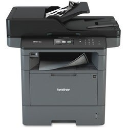 Brother MFC-L5900DW Laser Multifunction Printer - Monochrome - Plain