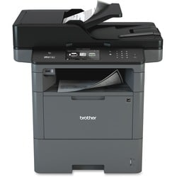 Brother MFC-L6800DW Laser Multifunction Printer - Monochrome - Plain