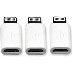 Visiontek Micro USB to Lightning Tip Adapter 3 Pack (White) (900816)|https://ak1.ostkcdn.com/images/products/etilize/images/250/1031873427.jpg?impolicy=medium