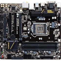 Gigabyte Ultra Durable GA-B150M-D3H GSM Desktop Motherboard - Intel C