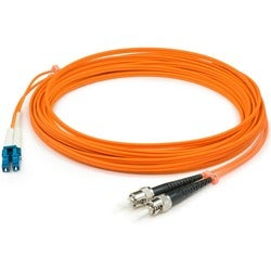 AddOn 6m Multi-Mode fiber (MMF) Duplex ST/LC OM1 Orange Patch Cable
