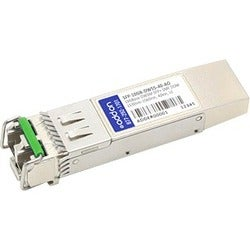 AddOn MSA and TAA Compliant 10GBase-DWDM100GHz SFP+ Transceiver (SMF,