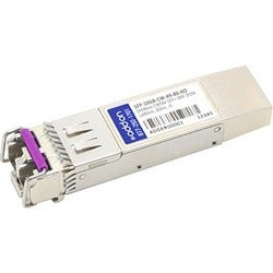 AddOn MSA and TAA Compliant 10GBase-CWDM SFP+ Transceiver (SMF, 1490n