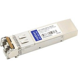 AddOn MSA and TAA Compliant 10GBase-CWDM SFP+ Transceiver (SMF, 1610n