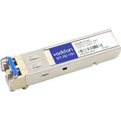 AddOn HP J9054B Compatible TAA compliant 100Base-LX SFP Transceiver (