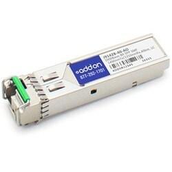 AddOn HP J9142B Compatible TAA compliant 1000Base-BX SFP Transceiver