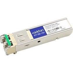 AddOn Finisar FTLF1519P1XCL Compatible TAA compliant 1000Base-ZX SFP
